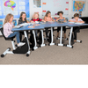 Kidsfit Six Person Pedal Desk