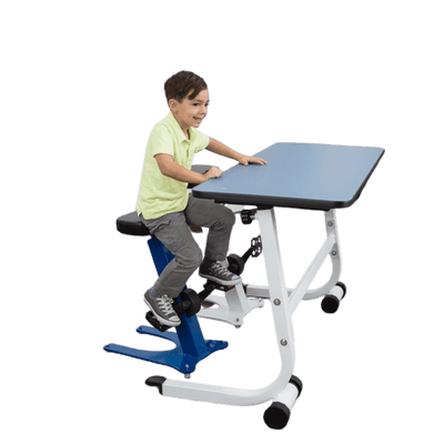 Standing Desk with Pedal Stool