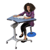 Kidsfit Kinesthetic Classroom Max Adjust - Single Sit/Stand Desk