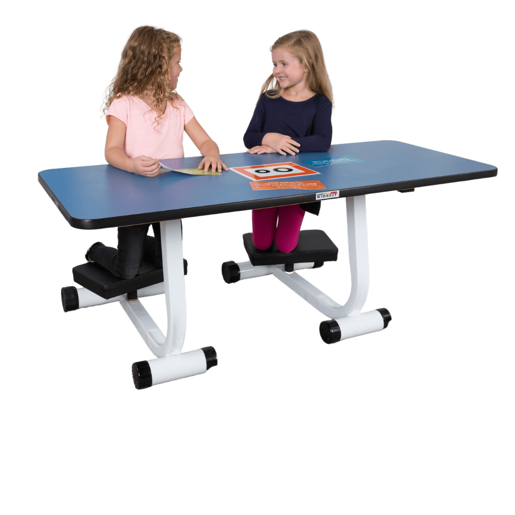 Two-Person Kneel 'n' Spin Student Desk