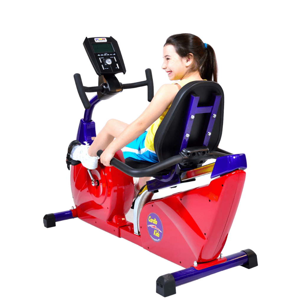 Cardio Kids Elementary Fully Recumbent Bike Exercise Machine Grade 3rd to 5th
