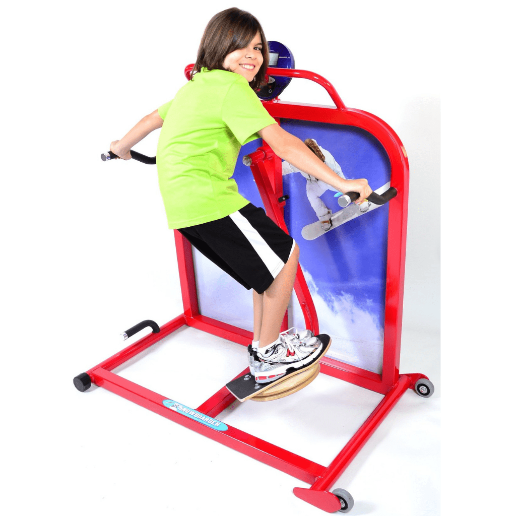 Cardio Kids Elementary Snowboarder Exercise Machine 3rd to 5th Grade