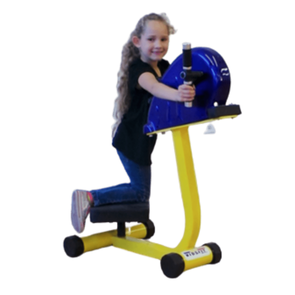 Kids Swim and Spin Exercise Machine