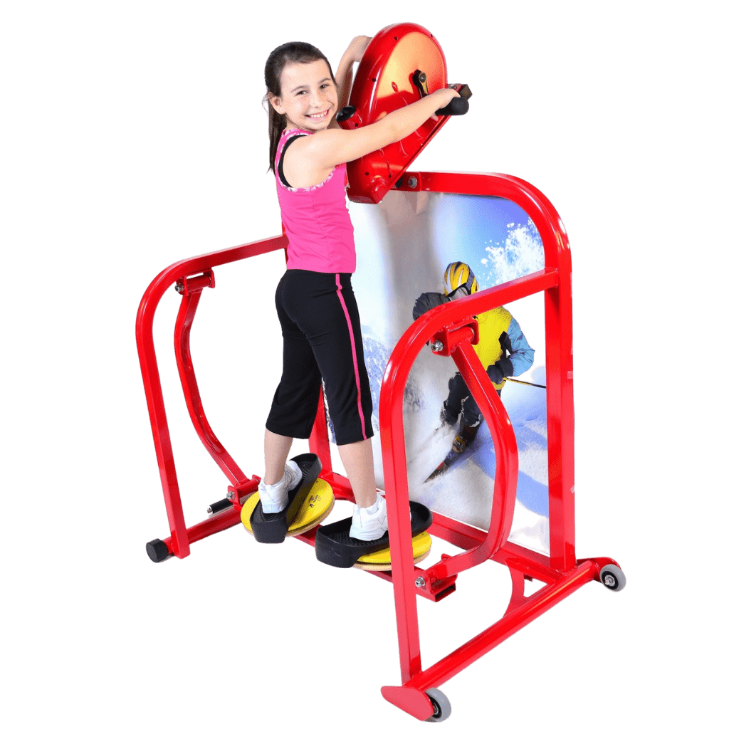 Cardio Kids Elementary Deluxe Skier Exercise Machine 3rd to 5th Grade
