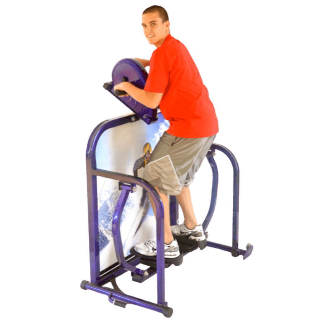 Cardio Kids Junior Deluxe Skier Exercise Machine 6th to 8th Grade
