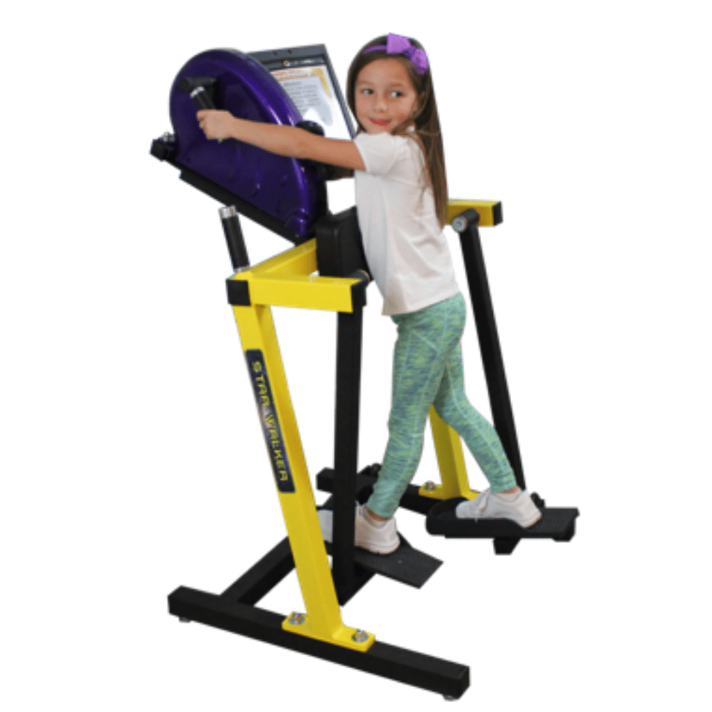 Cardio Kids Super Small Starwalker Exercise Machine Grade K to 2nd