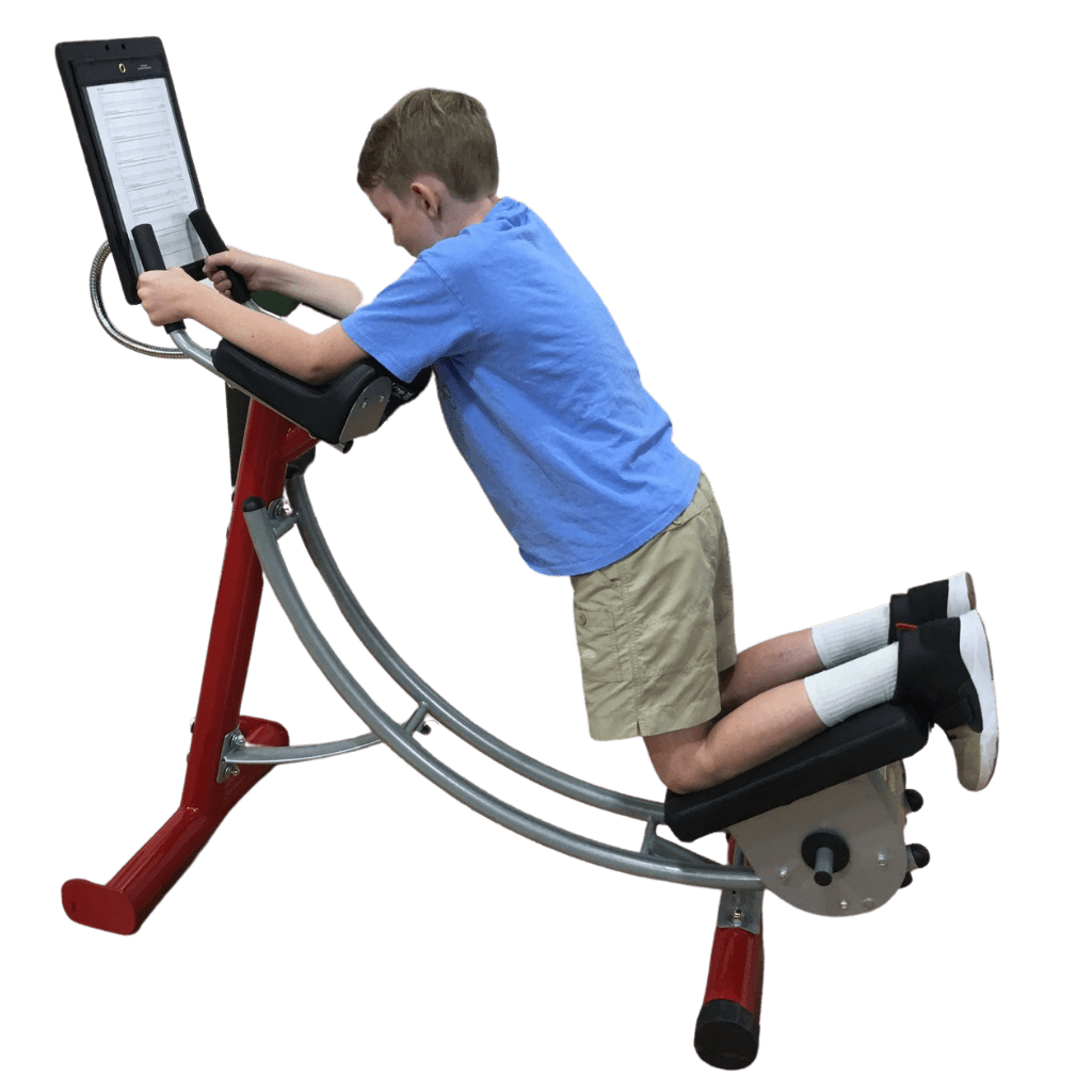 Youth Fitness Abdominal Crunch Machine for Grades 3rd to 6th