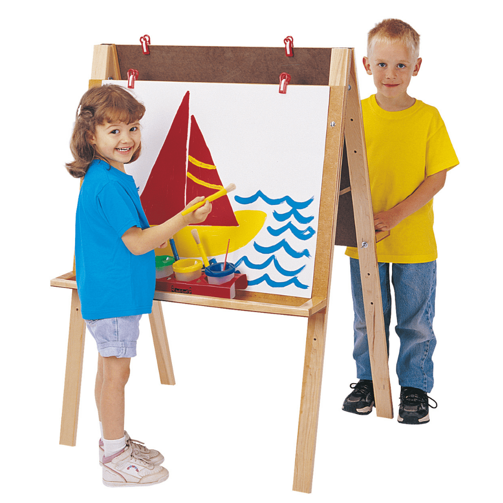 Jonti-Craft® Double Adjustable Easel