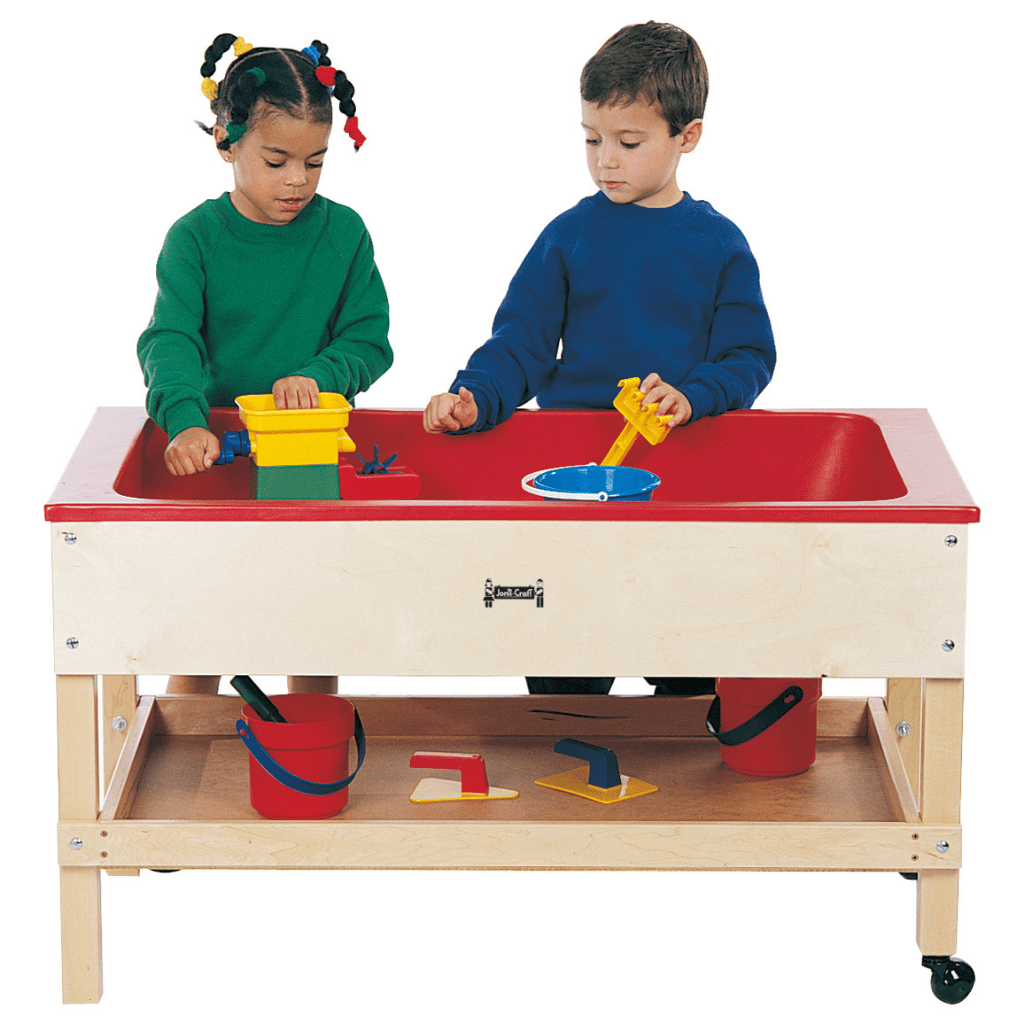 Jonti-Craft® Sensory Table with Shelf