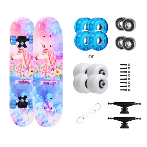 unicorn kids Skateboards for girls