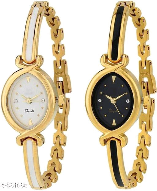 Stylish Women's Watches(Set Of 2)