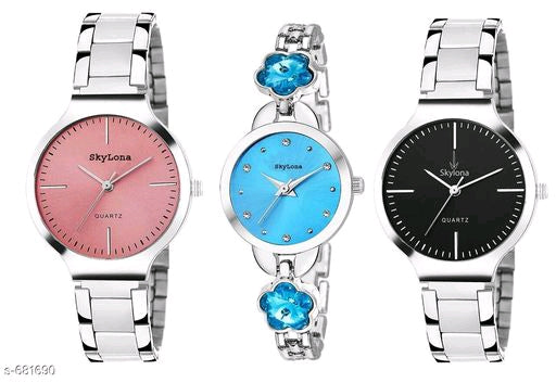 Stylish Women's Watches(Set Of 3)