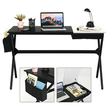 Load image into Gallery viewer, Writing Study Computer Desk with Drawer and Storage Bag for Bedroom Living Room - Vanitiest