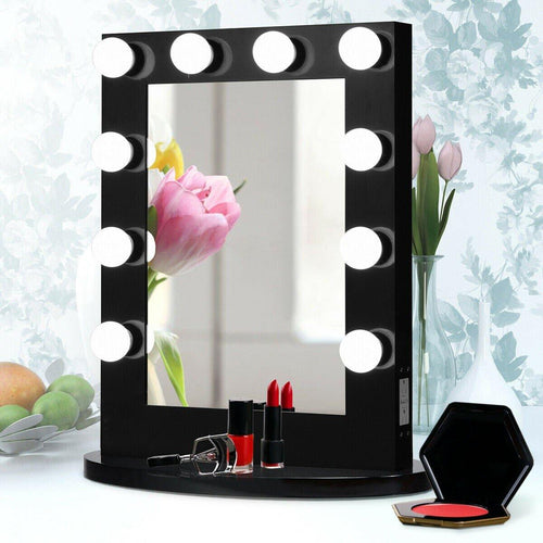 Hollywood Makeup Vanity Mirror with Dimmable LED Light Bulbs - Vanitiest