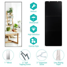 "Load image into Gallery viewer, 59'' x 20"" Wall Mounted Full Length Mirror Large Rectangle Bedroom Floor Mirror"