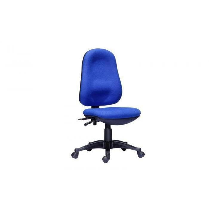 Blue Fabric Operator Office Chair