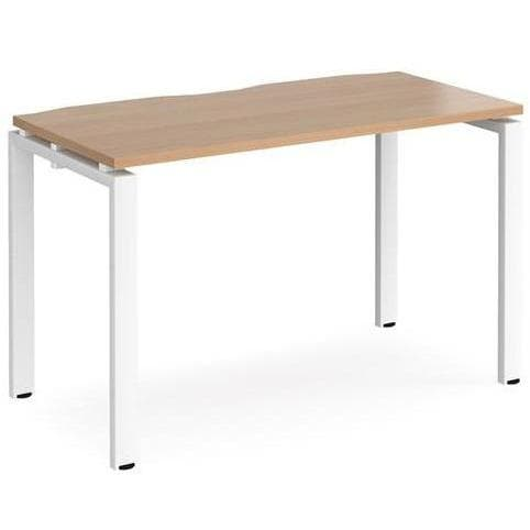 single bench desk