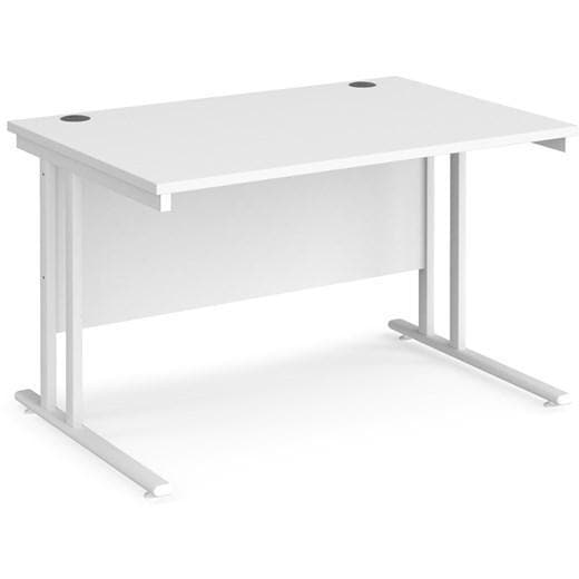 office desk with pedestal