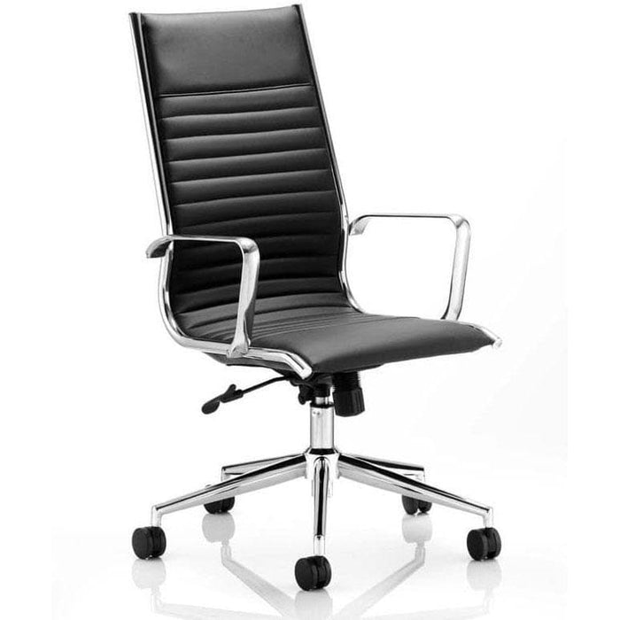Ritz high back leather office chair