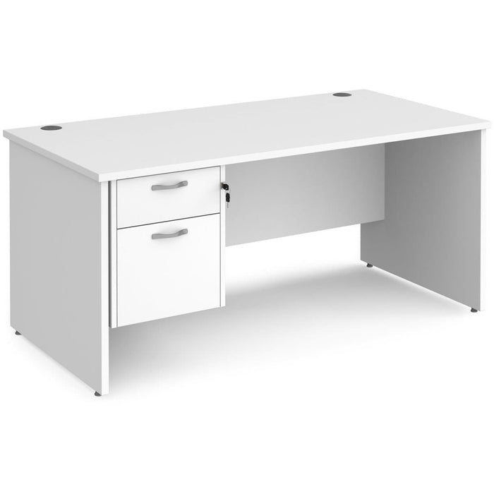 panel desk with storage avaliable