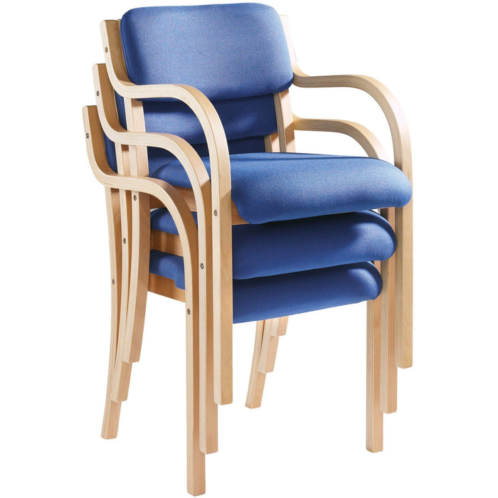 stacked meeting chair