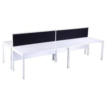 Four person bench desk