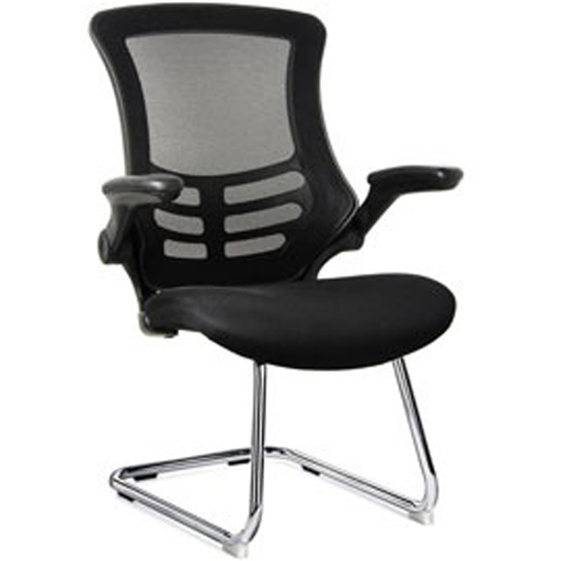 mesh frame visitor chair