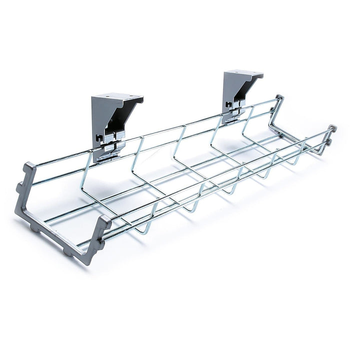 bench desk cable trays