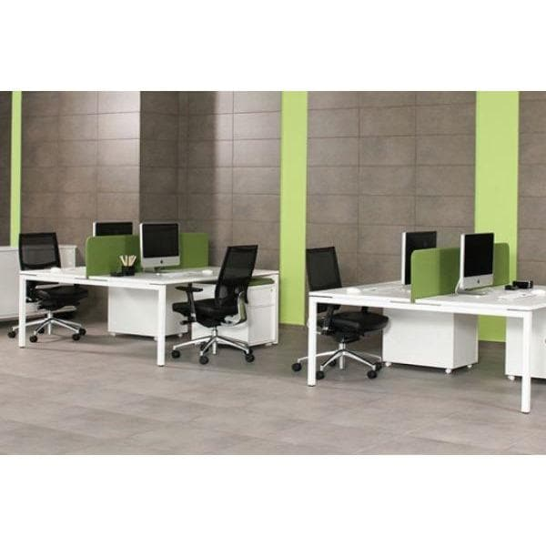 white nova bench desks