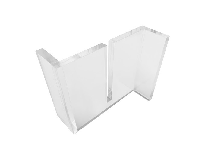 Perspex Desk Sneeze Guard OI