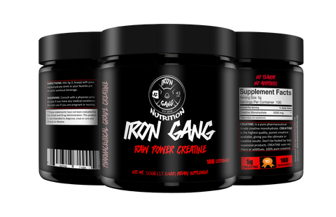 RAW POWER CREATINE - IRON GANG NUTRITION