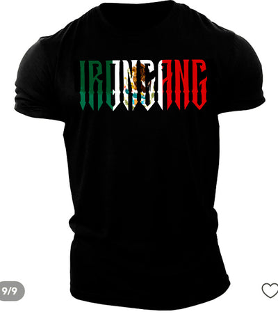 IRONGANG Mexican Flag Shirt