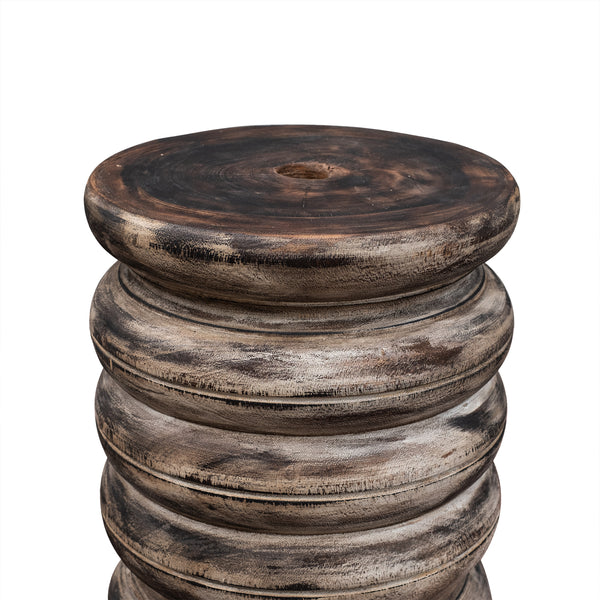 Wooden Round Bamboo Base - IN STOCK