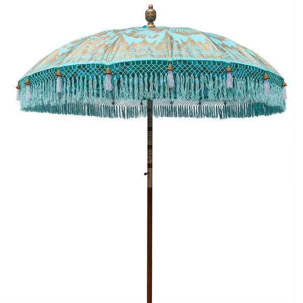 Bette (2m) Round Bamboo Parasol - IN STOCK
