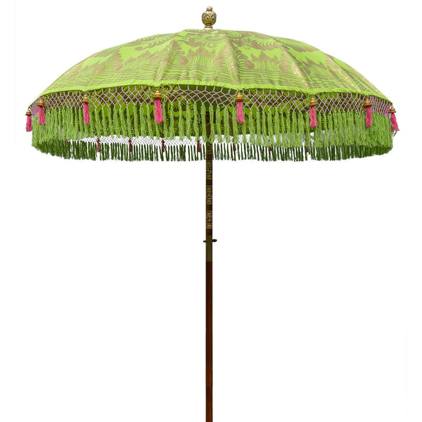 Jane (2m) Round Bamboo Parasol - IN STOCK