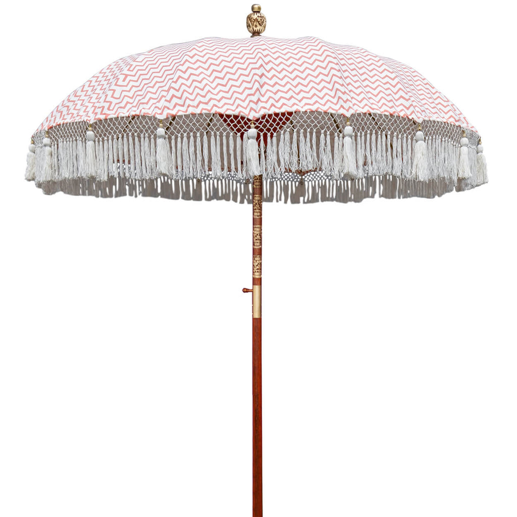 Kate (2m) Round Bamboo Parasol - IN STOCK