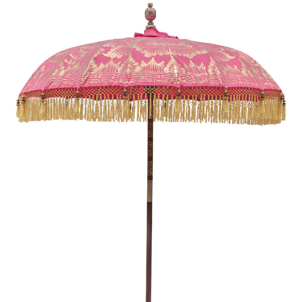Whitney (2m) Round Bamboo Parasol - IN STOCK