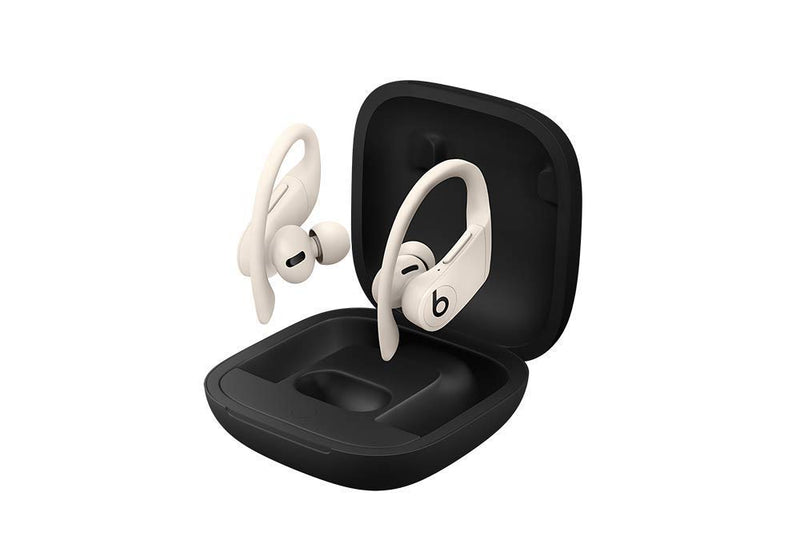 Powerbeats Pro Wireless Earphones - Apple H1 Headphone Chip, Class 1 Bluetooth, 9 Hours Of Listening Time, Sweat Resistant Earbuds - Ivory - Epivend
