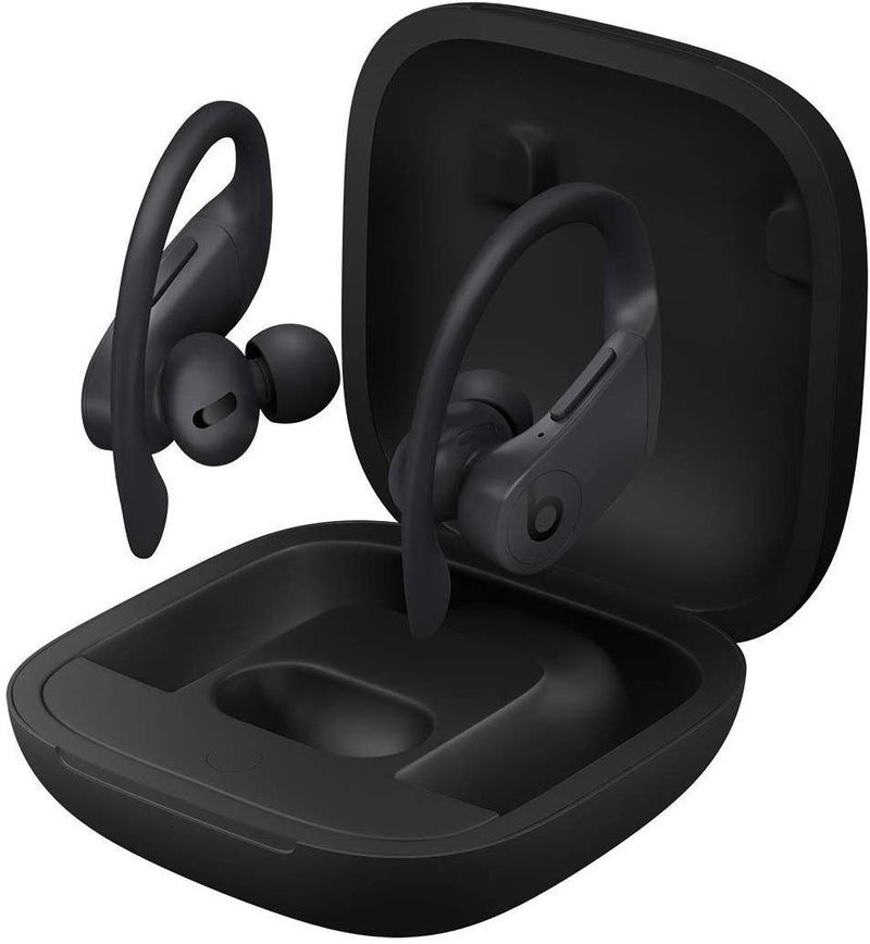 Powerbeats Pro Wireless Earphones - Apple H1 Headphone Chip, Class 1 Bluetooth, 9 Hours Of Listening Time, Sweat Resistant Earbuds - Black - Epivend