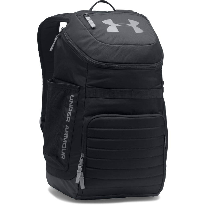 Under Armour Undeniable 3.0 Backpack,Black (001)/Steel, One Size Fits All Fits All - Epivend