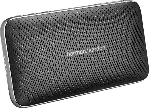 JBL HKESQUIREM2BLKAM Harma Kardon Esquire Mini 2 Ultra-Slim and Portable Premium Bluetooth Speaker - Black - Epivend