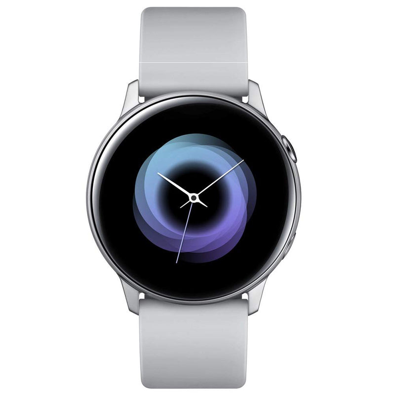 Samsung Galaxy Watch Active - 40mm, IP68 Water Resistant, Wireless Charging, SM-R500N International Version (Silver) - Epivend