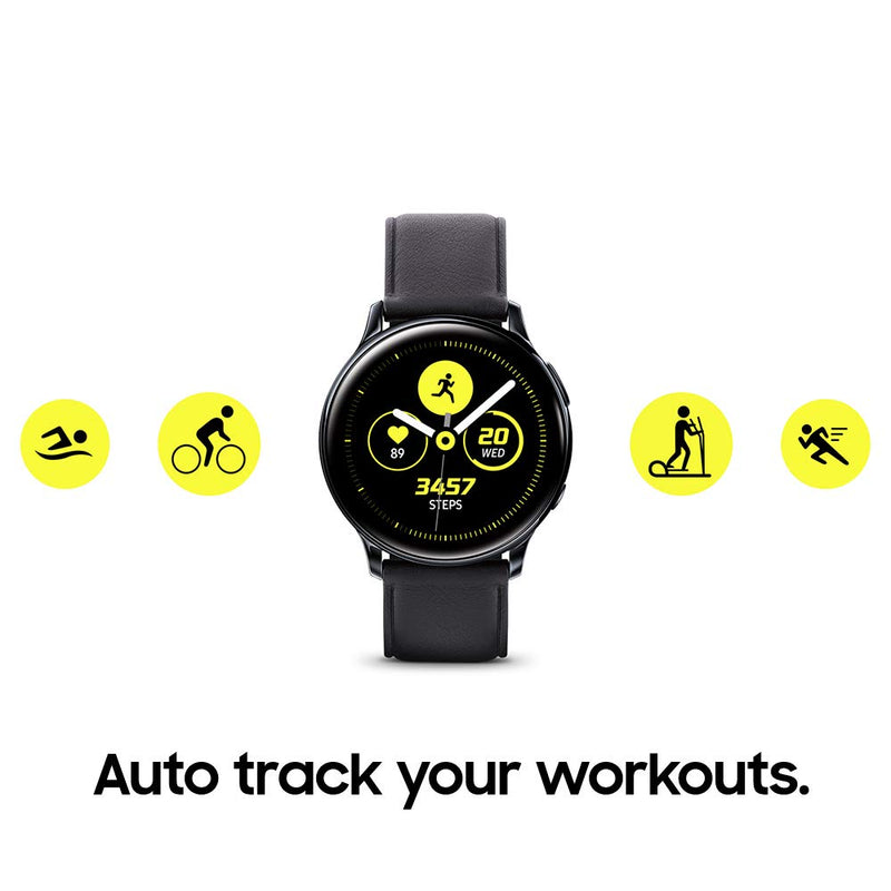 Samsung Galaxy Watch Active2 W/ Enhanced Sleep Tracking Analysis, Auto Workout Tracking, and Pace Coaching (44mm, GPS, Bluetooth, Wifi), Silver - US Version with Warranty - Epivend
