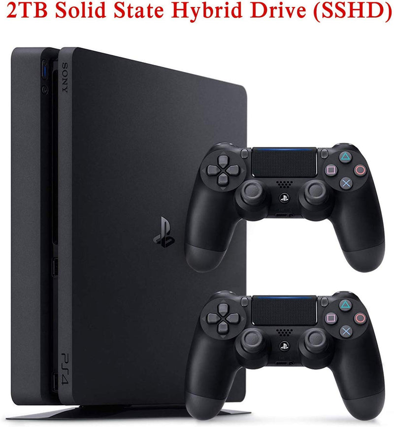 NexiGo 2020 Newest Playstation 4 PS4 Console Holiday PS4 Bundle Upgraded 2TB SSHD with Two Dualshock 4 Wireless Controller - Epivend