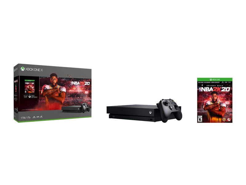 Xbox One X 1TB Console - NBA 2K20 Bundle - Epivend