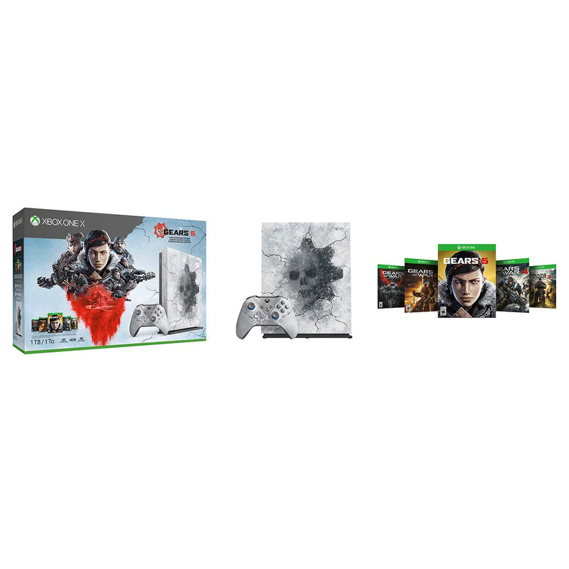 Xbox One X 1Tb Console - Gears 5 Limited Edition Bundle - Epivend