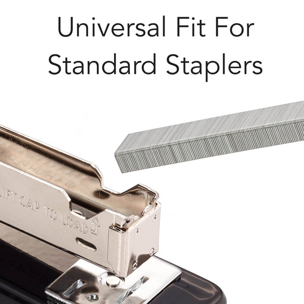 Swingline SWI79350 Standard Staples, 210/Strip, 5000/Box, Silver - Epivend