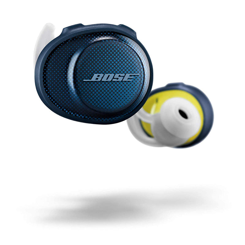 Bose SoundSport Free Truly Wireless Headphones - Midnight Blue with Citron - Epivend