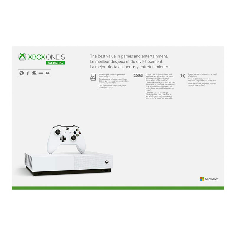 Xbox One S 1TB All-Digital Edition Console (Disc-Free Gaming) - Epivend