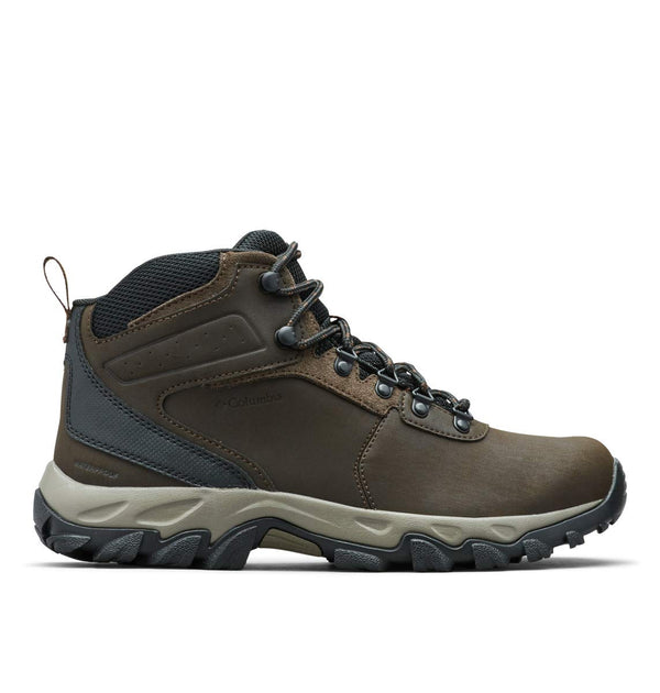 Columbia Men's Newton Ridge Plus II Waterproof Hiking Boot, Cordovan, Squash, 10.5 Regular US - Epivend